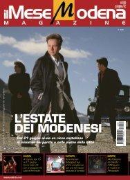 L'EstatE dEi modEnEsi - il mese parma magazine