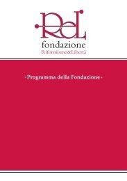leggi tutto il nostro programma... - Fondazione ReL