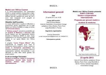 Informazioni generali 23 aprile 2013 - Medicina e Chirurgia ...