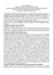 edital 16 resultado final analista judiciario e tecnico taquigrafia ...