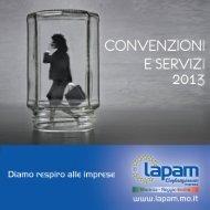 Elenco Convenzioni 2013 - Lapam