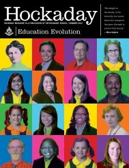 Education Evolution - The Hockaday School