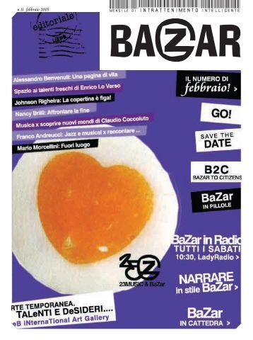 FeBbRaIo 2005 - Bazar