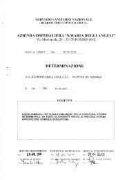 determinazione n. 140 del 30.04.2010 - Azienda Ospedaliera Santa ...