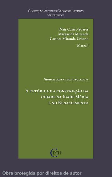 A retórica e a construção da cidade na Idade Média e no ...