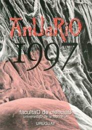Anuario 1997.pdf - Biblioteca - Facultad de Ciencias