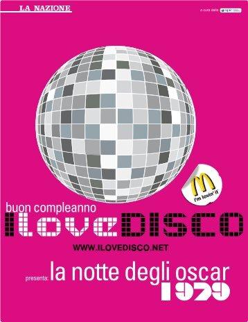 La Nazione Inserto - I love disco