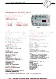 Datenblatt für ISO 7000 - Wenglorz