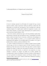 Metodología Marxista y su Herencia en el Configuracionismo ... - UAM