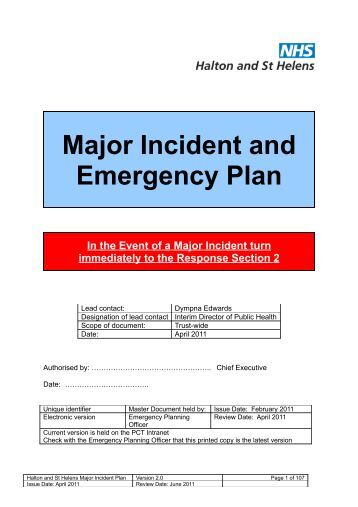 essay major incident planning Consistently named one of creative writing exercises for beginners the top universities in management essay incident plan tn and the south, cbu is your home incident.