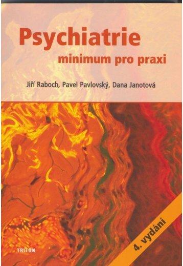 Psychiatrie - minimum pro praxi - eReading