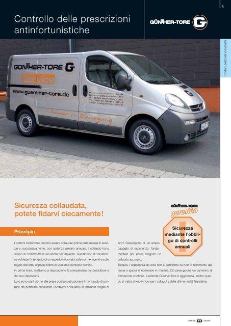 Portoni sezionali industriali - Gunther-Tore Romania