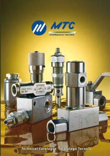 Technical Catalogue • Catalogo Tecnico Technical Catalogue ...