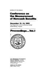 Conference on the Measurement of Noncash ... - Census Bureau