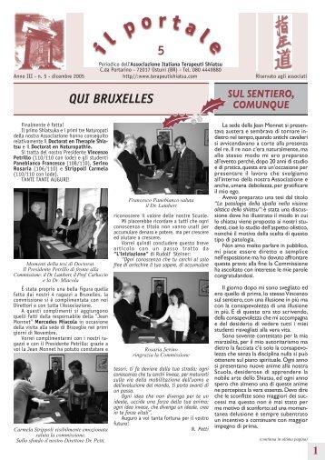 Anno III – n.5 – dicembre 2005 - CENTRO STUDI DISCIPLINE ...