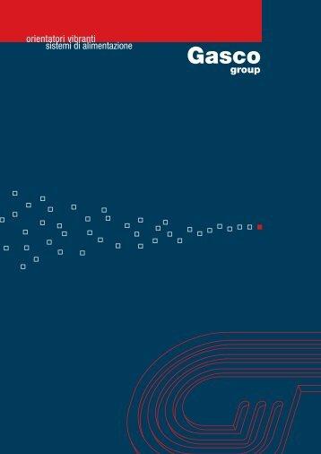 Scarica QUI il nostro catalogo - Gasco Group