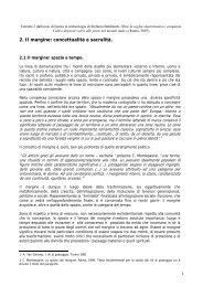 2. Il margine: concettualità e sacralità. - Margine, Soglia, Confine ...