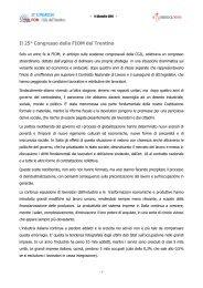 La relazione di Milena Demozzi - CGIL del Trentino