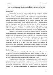 Trastorno bipolar - Asociación Española de Pediatría