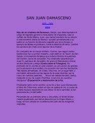 SAN JUAN DAMASCENO - Dios te llama