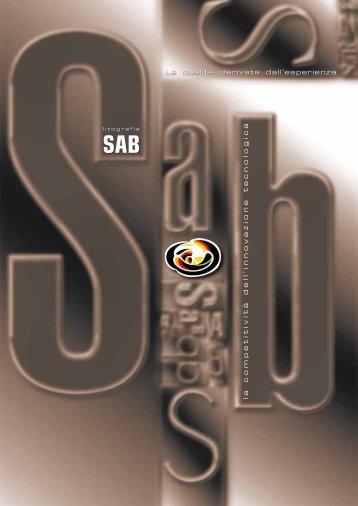 Scarica la nostra BROCHURE - Litografia SAB - Benvenuti!