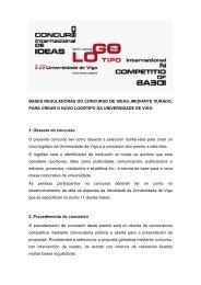 bases - Área de Imaxe - Universidade de Vigo