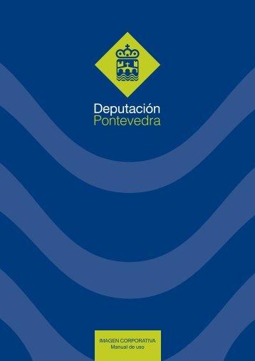 IMAGEN CORPORATIVA Manual de uso - Deputación de Pontevedra