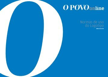 Normas de uso do Logotipo - O Povo