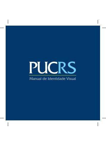 Manual de Identidade Visual da PUCRS, editado e