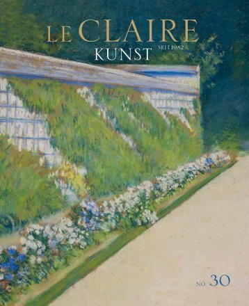 FROM ROBERT TO GIACOMETTI - leclaire-kunst.de