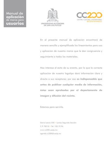 Manual de aplicación de imagen institucional