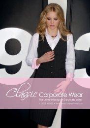 2013 catalogue - Classic Corporate Wear