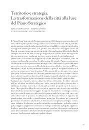 Territorio e strategia. - Torino Internazionale