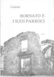 BORNATC) E I SU()I PARROCI - Parrocchia di Bornato