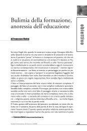 Bulimia della formazione, anoressia dell'educazione - Enaip