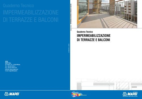 Impermeabilizzazione Di Terrazze E Balconi Mapei
