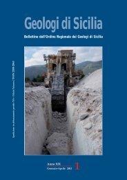 Gds_1 Anno 2011 - Ordine Regionale dei Geologi di Sicilia
