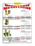 € 0,038 cad. € 0,045 cad. € 0,052 cad. € 0,062 cad. € 0,074 ... - Migoni - Page 5