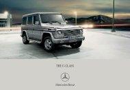 Download G-Class catalogue (PDF) - Mercedes-Benz Indonesia