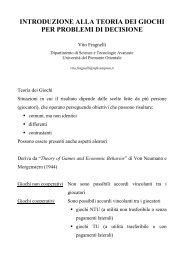 Trasparenze (pdf) - Università del Piemonte Orientale