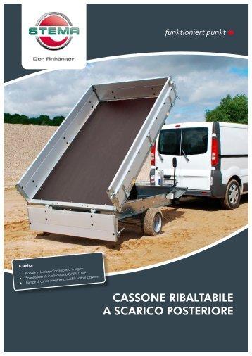 CASSONE RIBALTABILE A SCARICO POSTERIORE - Stema
