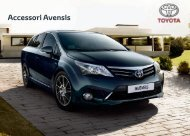 Accessori Avensis - Toyota