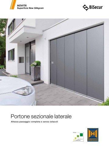 Portone sezionale laterale - Hörmann Italia