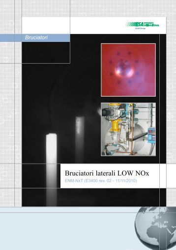 Bruciatori laterali LOW NOx - Esa