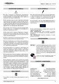Bruciatori laterali LOW NOx - Esa - Page 2