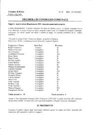 regolamento IMU (imposta municipale propria) - Comune di Forio