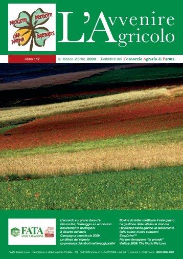 Anno 117 Periodico del 2 Marzo-Aprile 2009 - Consorzio Agrario di ...