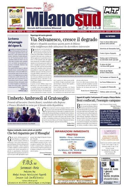 Milano Sud Il 2 Febbraio 2013 Fabio Pizzul