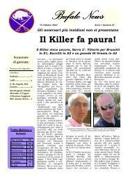 BufaloNews 27 cervara - Gruppo Sportivo TURBIKE