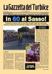 gazzetta 9 sasso - Gruppo Sportivo TURBIKE